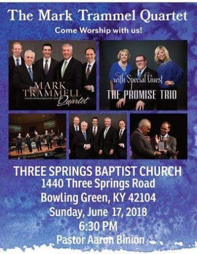The Promise Trio Mark Trammell Quartet Concert